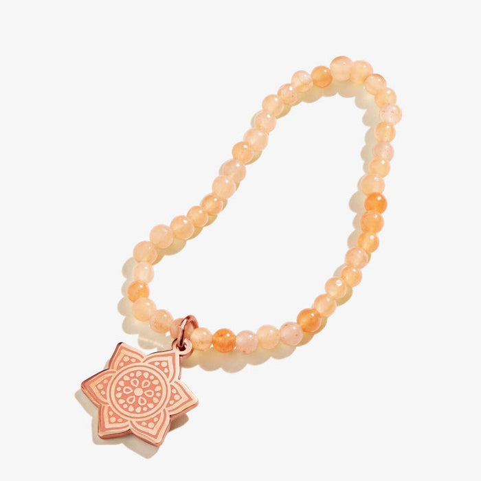 ALEX AND ANI Sacral Chakra Charm Stretch Bracelet