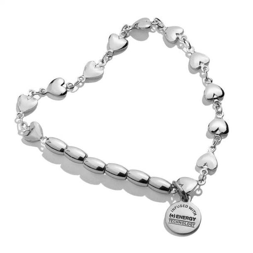 ALEX AND ANI Heart Stretch Bracelet