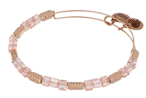 ALEX AND ANI Pink Rose Beaded Bangle