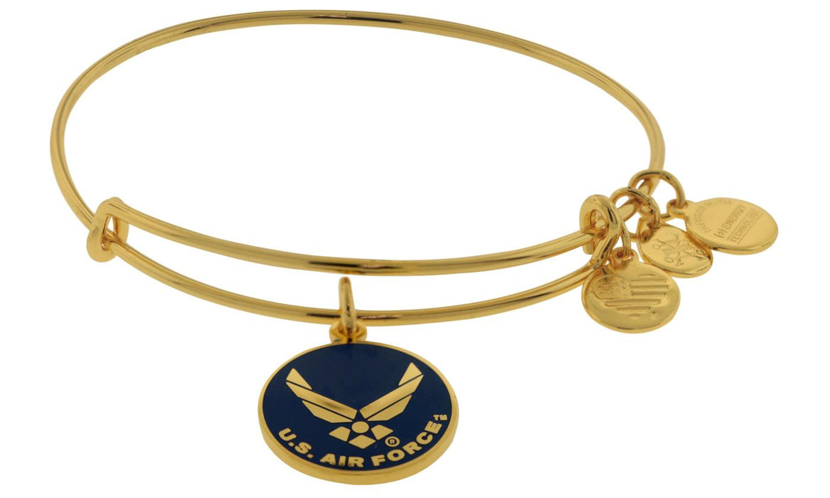 ALEX AND ANI U.S. Air Force Charm Bangle