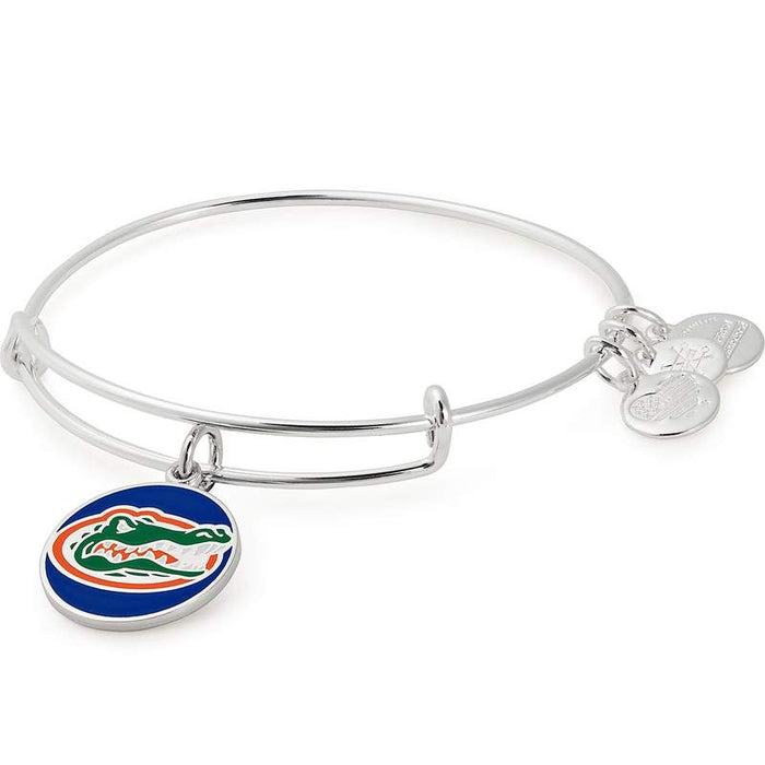 ALEX AND ANI Color Infusion, University of Florida Logo Charm Bangle