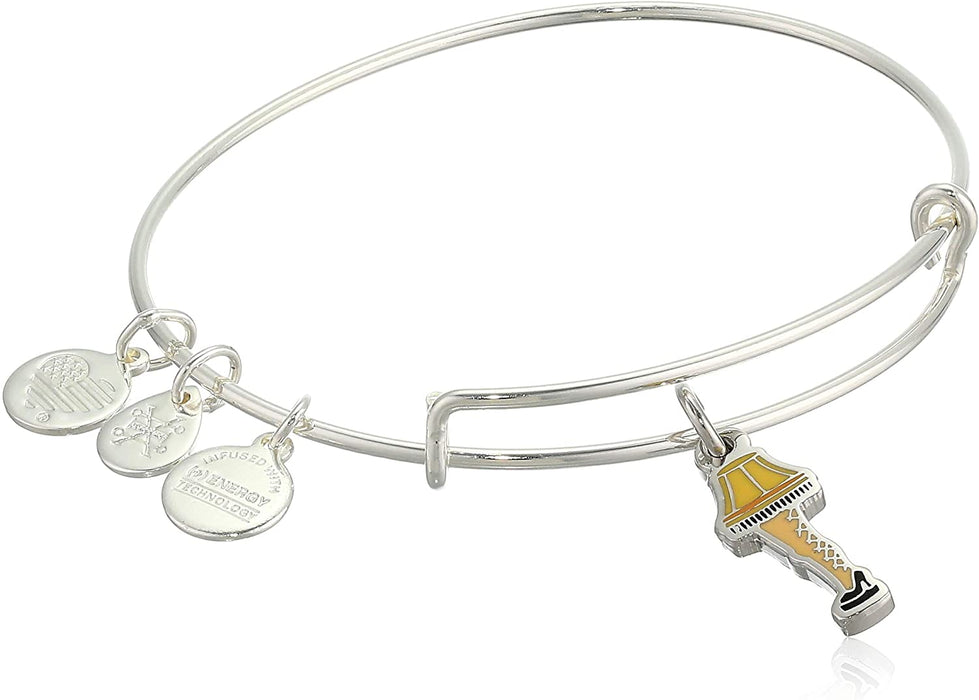 "ALEX AND ANI A Christmas Story ""Frageelay"" Leg Lamp Charm Bangle"