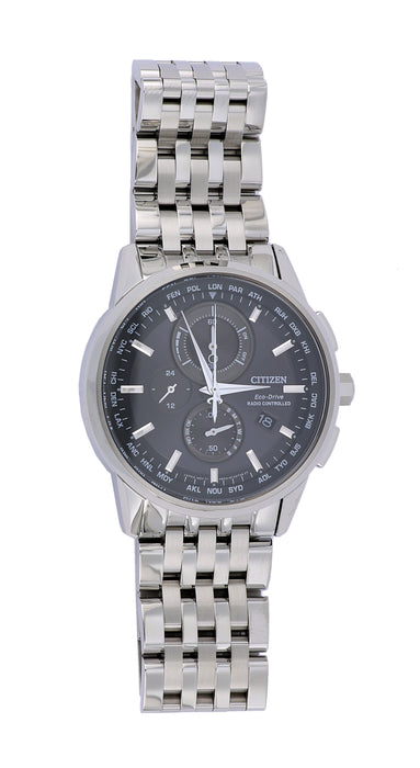 CITIZEN Men's Watch (World Chronograph A-T 43mm)