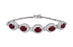 Ruby Ladies Bracelet (Ruby 7.88 cts. White Diamond 1.03 cts.)