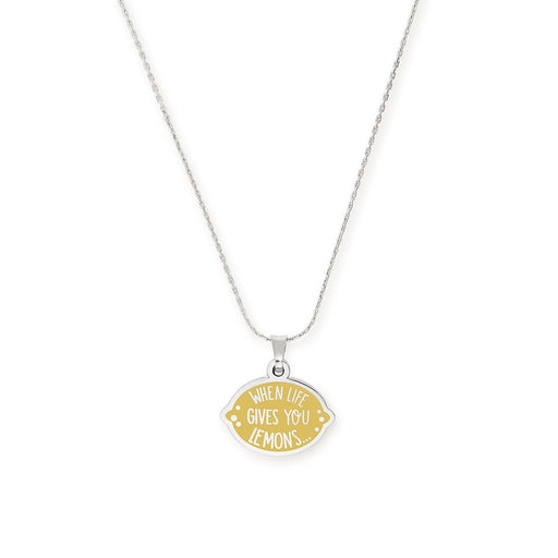 ALEX AND ANI When Life Gives You Lemons Necklace