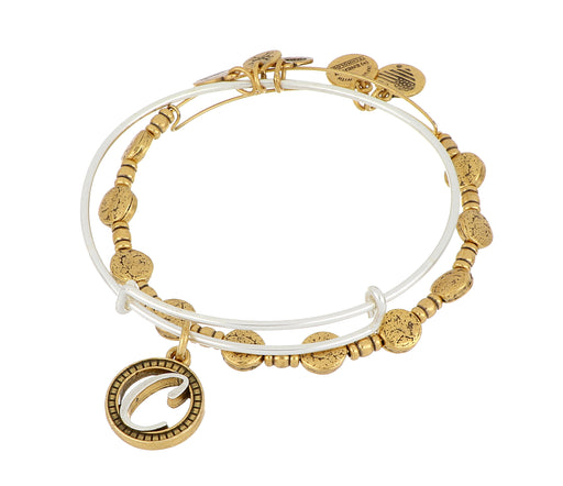 ALEX AND ANI Create Your Own Initial Bangle Set