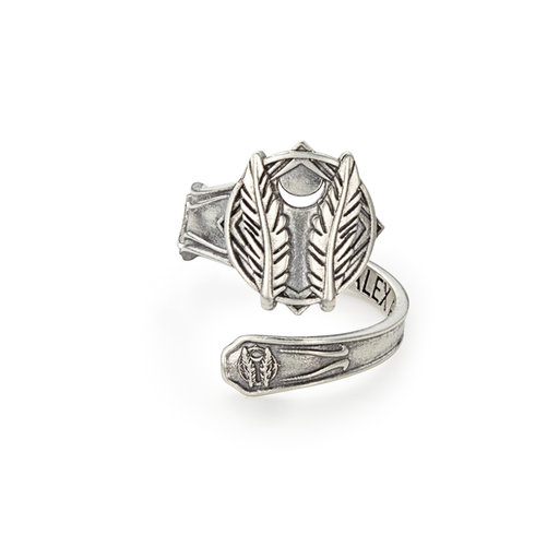 ALEX AND AI Godspeed Spoon Ring Sterling Silver