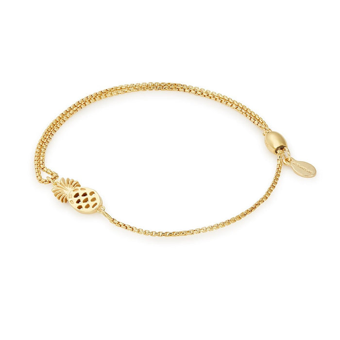 ALEX AND ANI Pineapple Pull Chain Bracelet