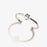 ALEX AND ANI Initial M Adjustable Ring