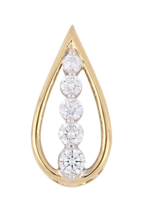White Diamond Ladies Pendant (White Diamond 0.5 cts.)