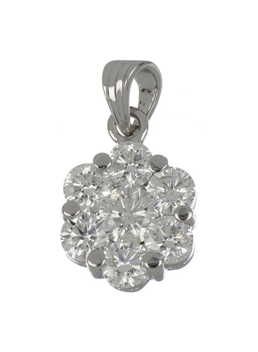 White Diamond Ladies Pendant (White Diamond 2.51 cts.)