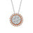 White Diamond Ladies Pendant (White Diamond 0.40cts.)