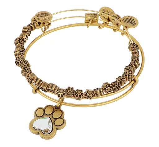 ALEX AND ANI Paw Prints of Love Set