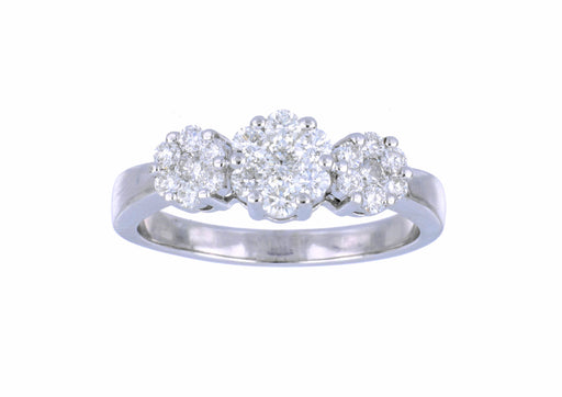 White Diamond Ladies Ring (White Diamond 0.75 cts.)