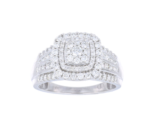 White Diamond Ladies Ring (1.00 cts.)