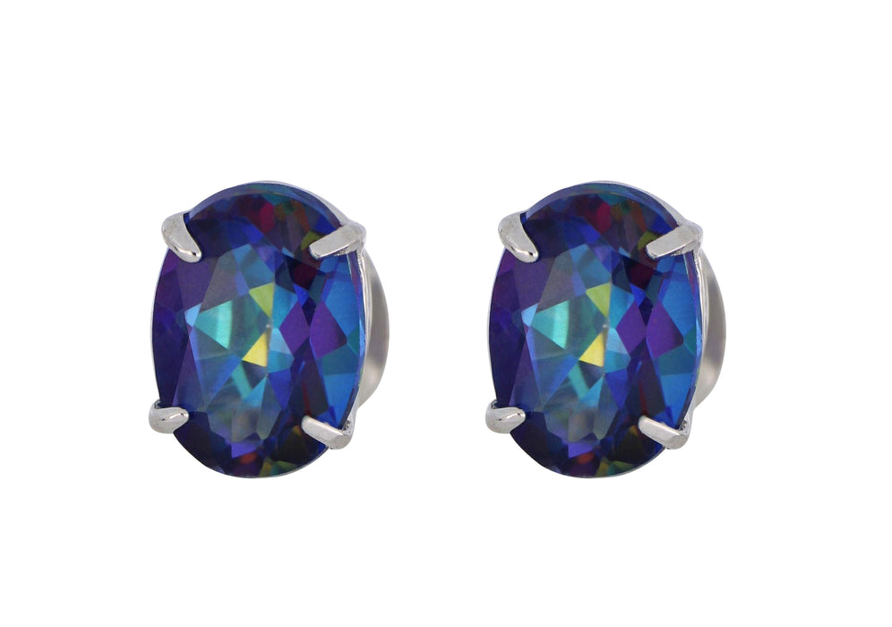 Blue Topaz Ladies Earrings (Blue Topaz 3.0 cts.)
