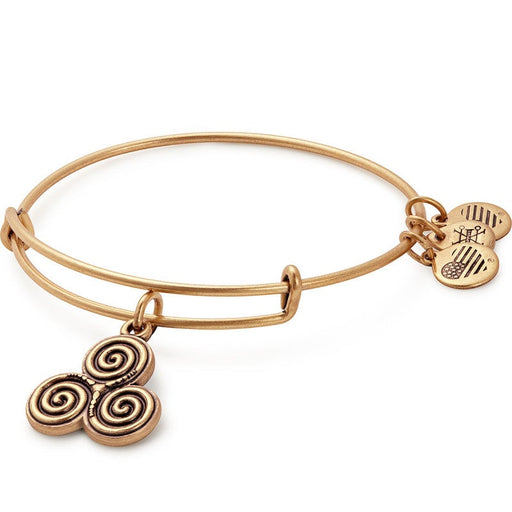 ALEX AND ANI Triskelion Charm Bangle