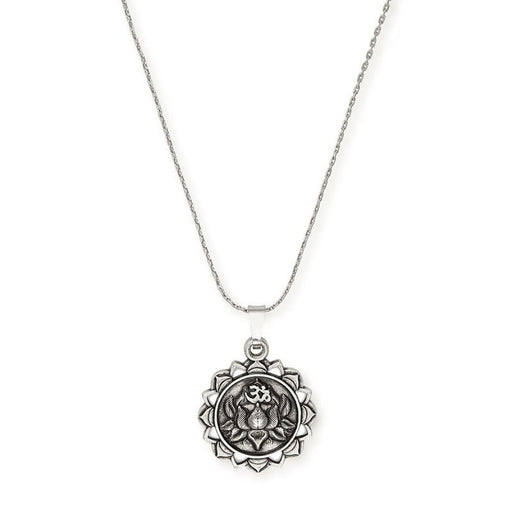 ALEX AND ANI Lotus Peace Petals Necklace
