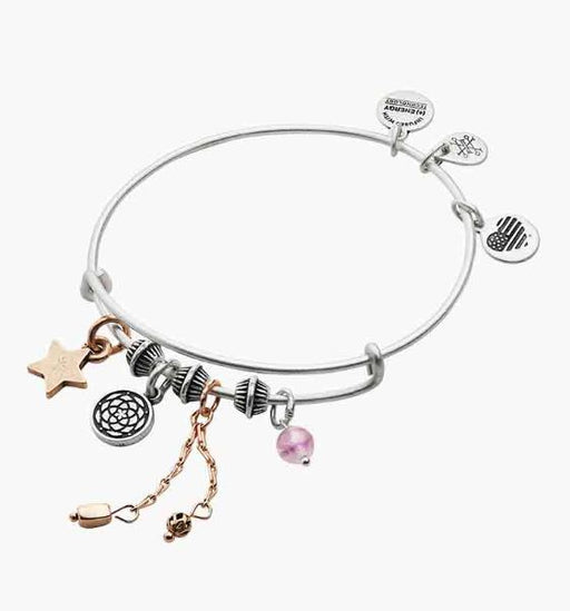 ALEX AND ANI New Beginnings Cluster Charm Bangle
