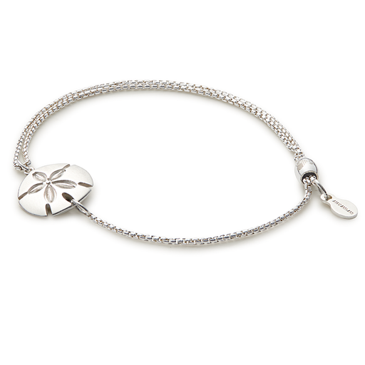 ALEX AND ANI Sand Dollar Pull Chain Bracelet