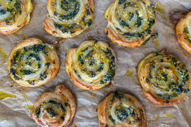 Spinach, Cream Cheese and Bacon Bites