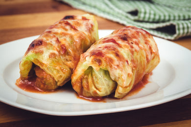 Baked Cabbage Rolls (Individual Meal)