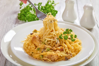 Chicken Tetrazzini Dinner (Individual Meal)