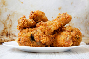Crispy Oven Fried Chicken Legs