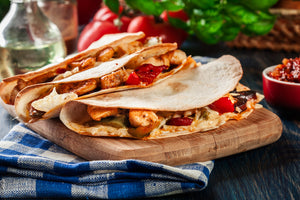 Greek Chicken Quesadilla