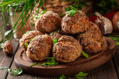 Meatballs, Seasoned