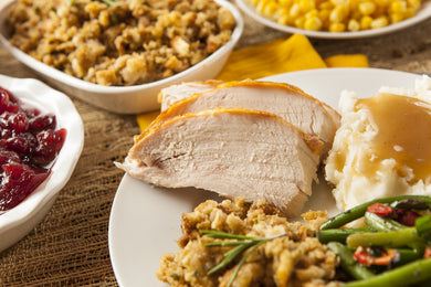 Roast Turkey (Individual Meal) *TEMPORARY LIMIT OF 5 PER ORDER*