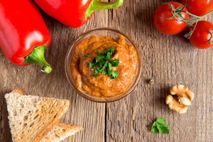 Roasted Red Pepper and Gouda Spread