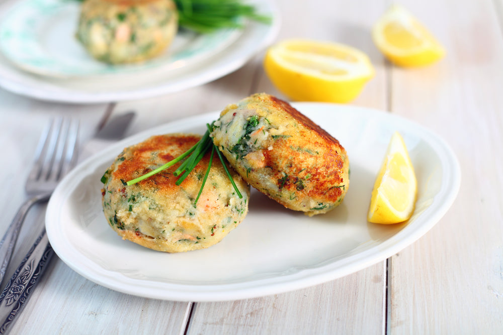 Salmon and Potato Cakes