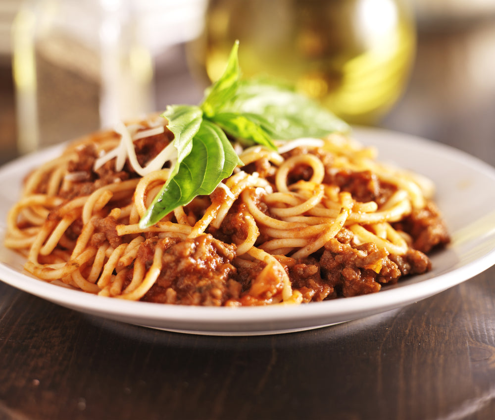 Spaghetti in Meat Sauce (Individual Meal)