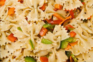 "Summer Vegetable Pasta Salad ""MUST CALL IN YOUR ORDER DUE TO LIMITED QUANTITIES!"""