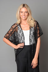 Ladies Black Kimono (Pack of 10) £4.00 Per Garment
