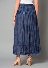 Ladies Indian Plain Half Lined Skirt (Pack of 10) £3.50 Per Garment