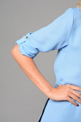 Ladies Plain Shirt with Pocket (Pack of 6) £4.50 Per Garment