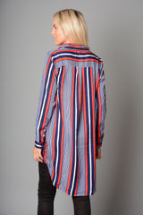 Ladies Stripe Shirt (Pack of 10) £4.50 Per Garment