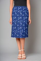 Ladies Floral Fully Elasticated Skirt (Pack of 8) £5.00 Per Garment