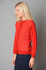 Ladies Lace Front Button Cardigan (Pack of 10) £5.50 Per Garment