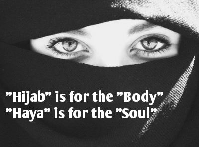 Is Modesty (Haya) all about Hijab?