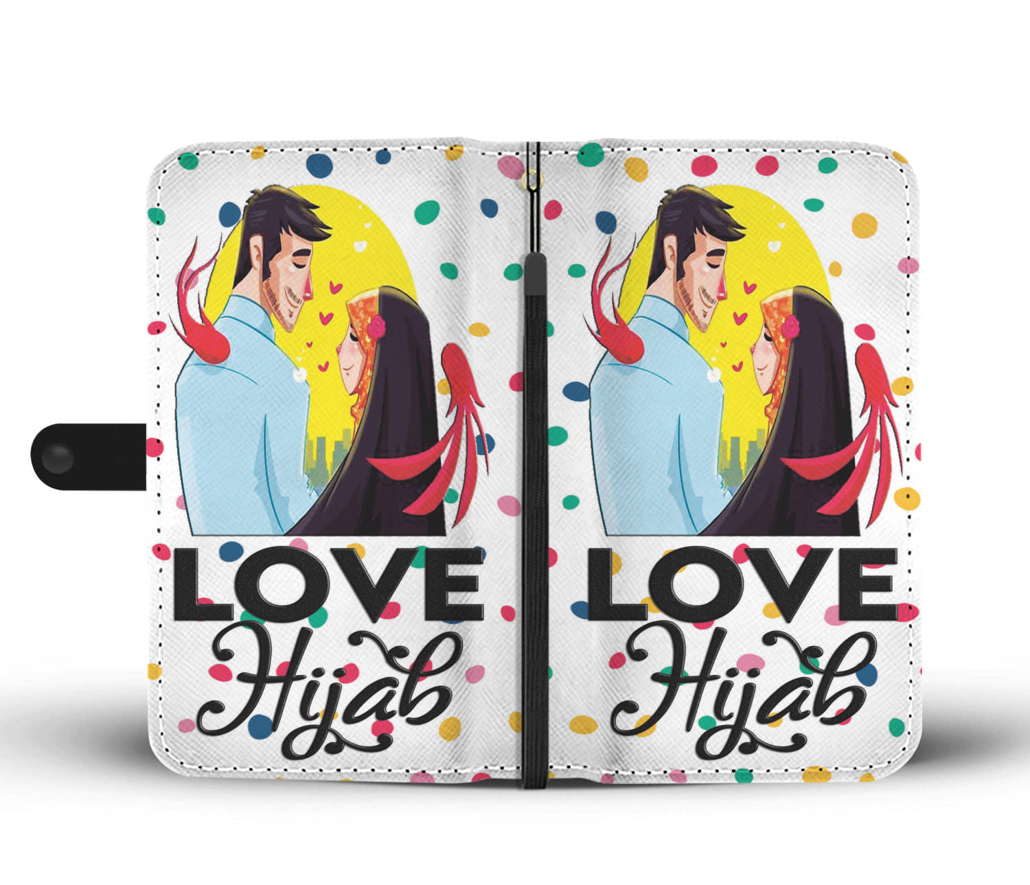 Love Hijab Wallet Case - Hifza Apparel