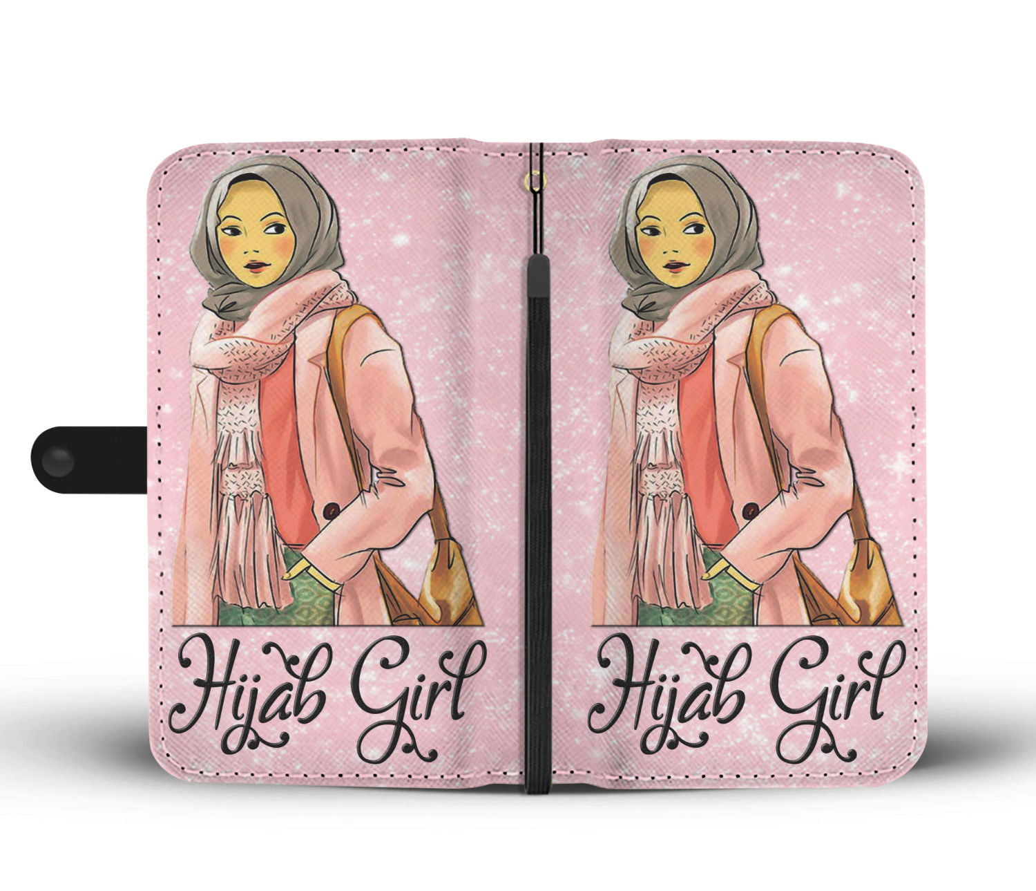 Hijabi Girl Wallet Case - Hifza Apparel