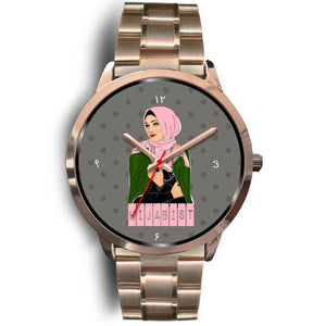 Hijabist Rose Gold Watch - Hifza Apparel