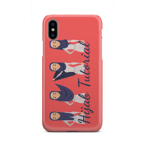 Hijab Tutorial Phone Case - Hifza Apparel