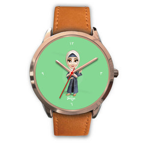 Hijabi Hifza Rose Gold Watch - Hifza Apparel