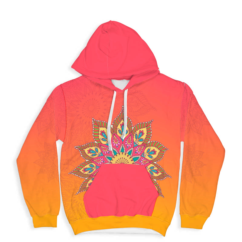 Ethnic  All Over Print Hoodie - Hifza Apparel