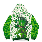 Floral Hat All over Print Hoodie - Hifza Apparel