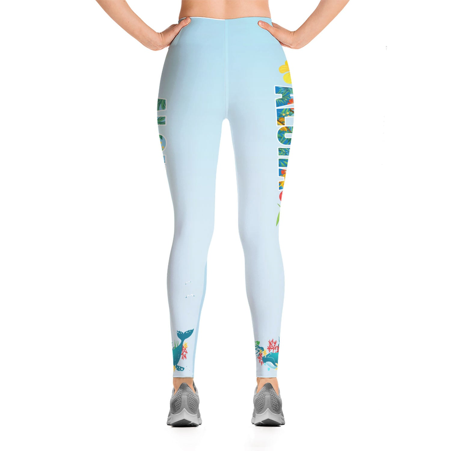 Aloha Fashion Leggings - Hifza Apparel
